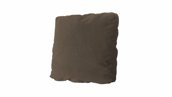 Подушка малая П1 (Beauty 04 (велюр) коричневый)