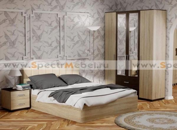 Спальный гарнитур Рондо кровать с ПМ