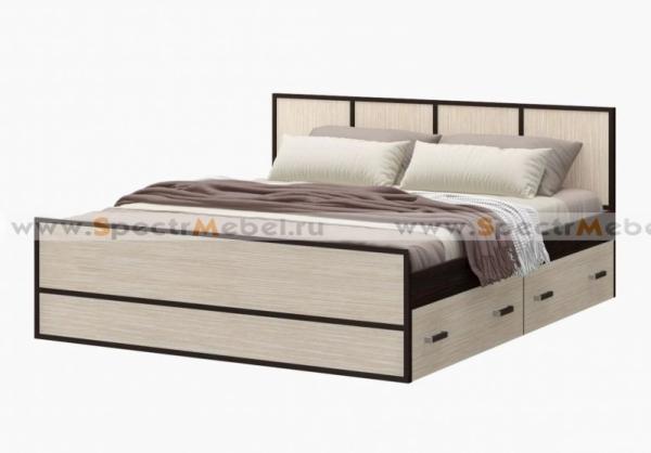 Кровать с ящиками 1650x800x2034 с матрасом в комплекте
