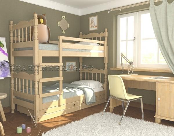 """Кровать """"Соня"""" сосна"""