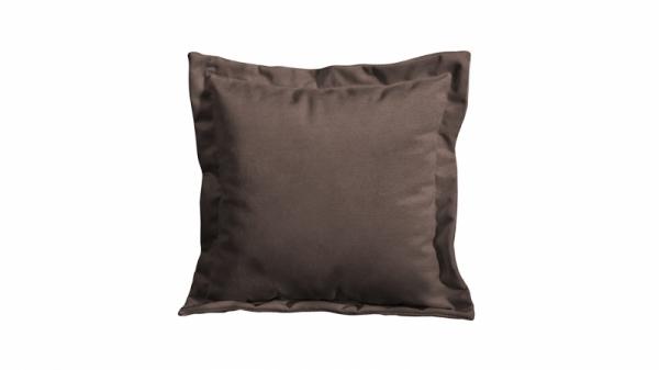 Подушка малая П2 (Miami 04 (рогожка) темно-коричневый)