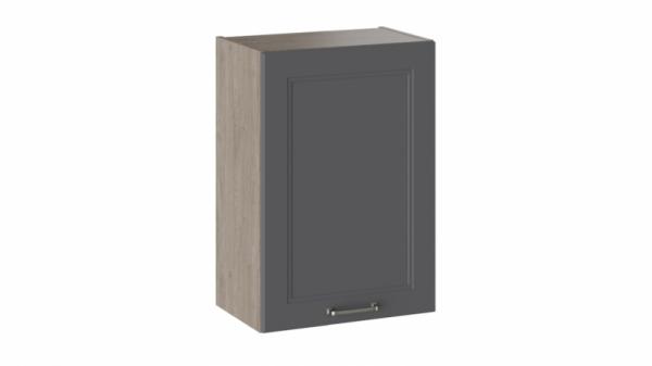 Шкаф навесной В_72-50_1ДР Серая 72 см