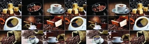 Фартук для кухни Кофе экспрессо 3000х1,5х600 мм