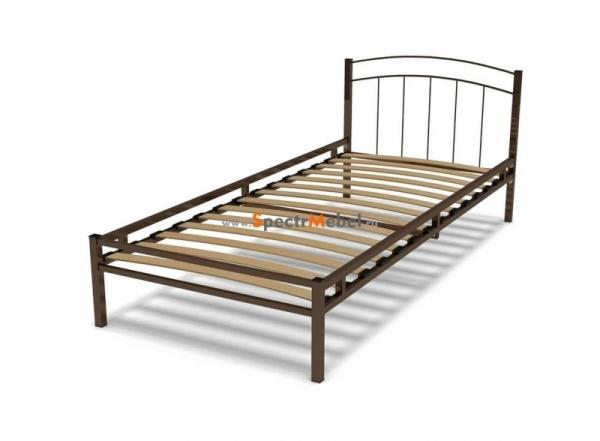 Кровать металлическая 90