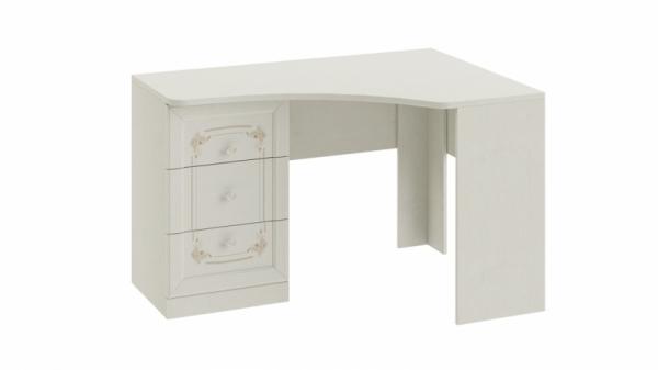 Письменный угловой стол с ящиками «Лючия» (Штрихлак)