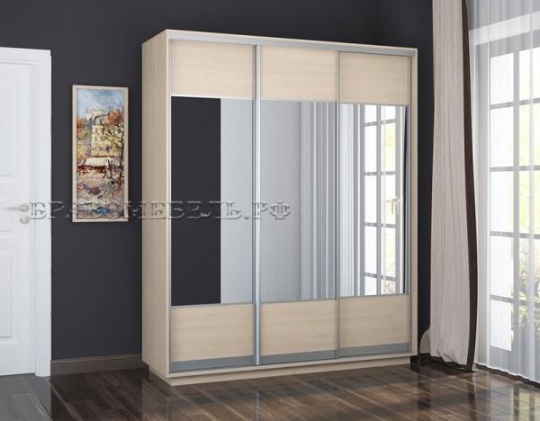 """Шкаф """"Честер 1800"""" (3 зеркала)"""