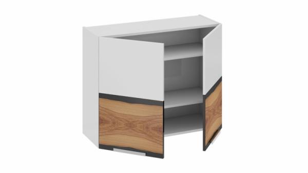 Шкаф навесной В_72-90_2ДР Белая 72 см