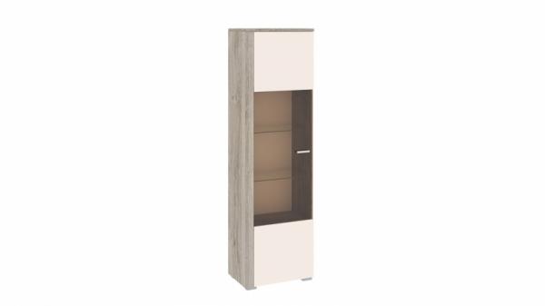 Шкаф комбинированный «Эйва» (Фон Бежевый, Дуб Верцаска)