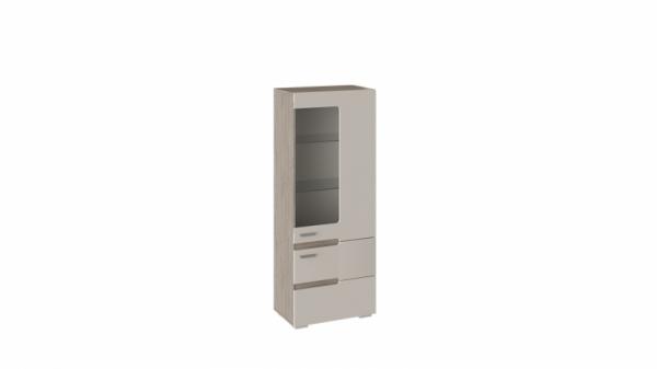 Шкаф для посуды «Фьюжн» (Бежевый, Дуб Сонома трюфель)