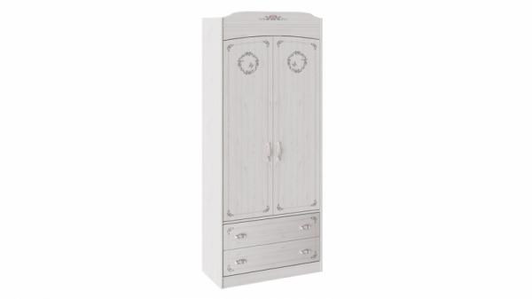 Шкаф комбинированный для одежды «Ариэль» (Лиственница Сибиу с рисунком)