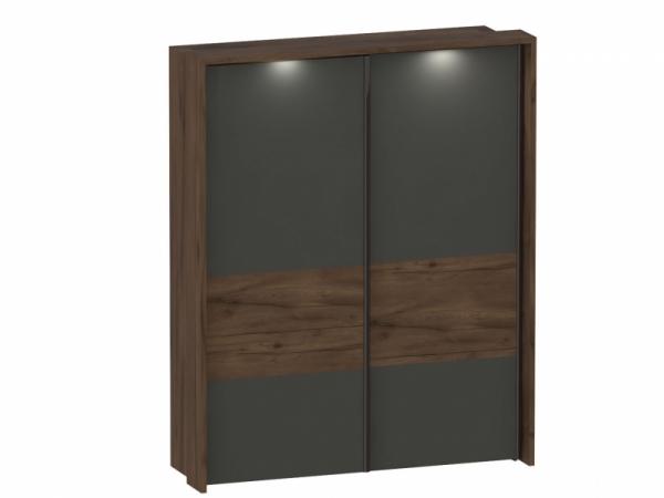 """Шкаф с раздвижными дверями с обрамлением спальня """"Глазго"""""""