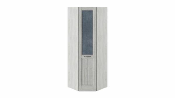 Шкаф угловой с 1 глухой дверью левый «Кантри» (Замша синяя/Винтерберг)