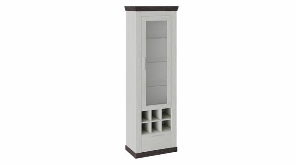 Шкаф для посуды «Поланд» Тип 1 (Винтенберг/Венге)