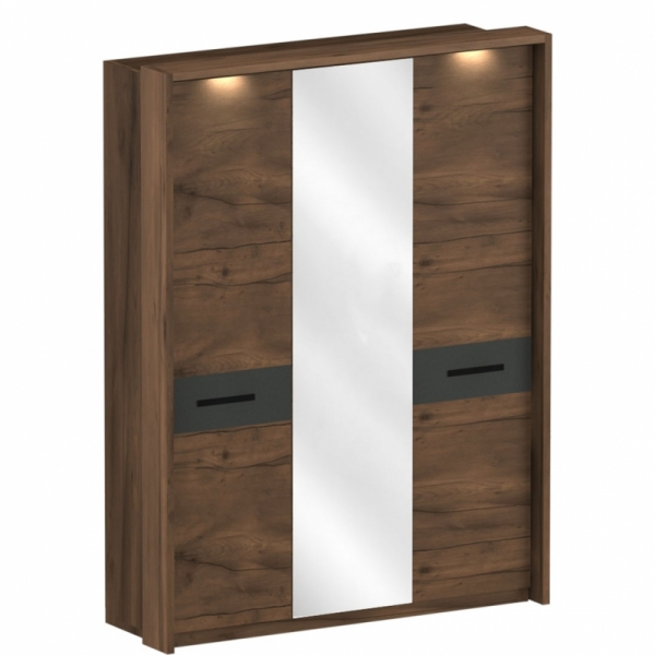"""Шкаф трёхдверный с обрамлением спальни """"Глазго"""""""
