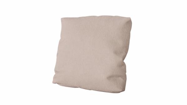 Подушка малая П1 (Miami 02 (рогожка) светло-коричневый)