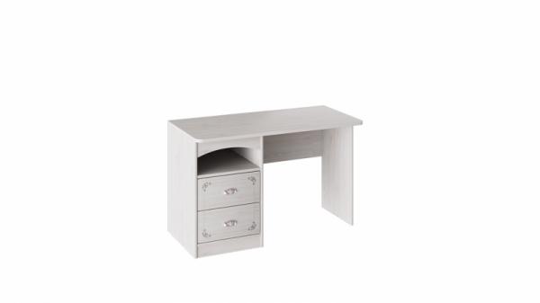Стол с ящиками «Ариэль» (Лиственница Сибиу с рисунком)