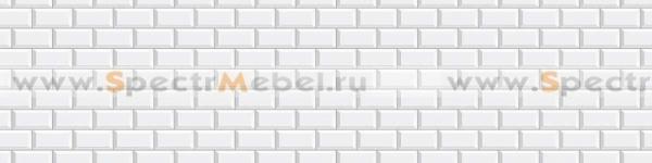 Фартук Белая плита 2800х3х610 мм