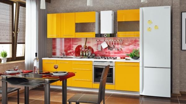 Модульная кухня «Ассорти» (АССОРТИ (Лимон))