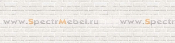 Фартук Белые кирпичи 2800х3х610 мм