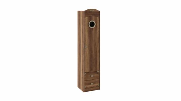 Шкаф комбинированный для белья с иллюминатором «Навигатор» (Дуб Каньон)