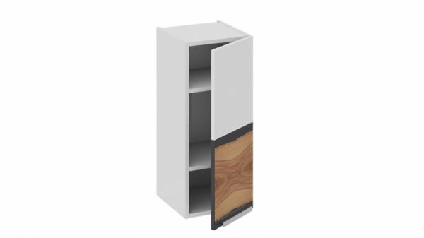 Шкаф навесной (правый) В_72-30_1ДР(Б) Белая 72 см