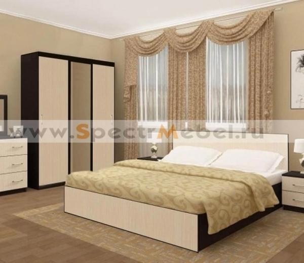 Комплект мебели двуспальный Локки 01