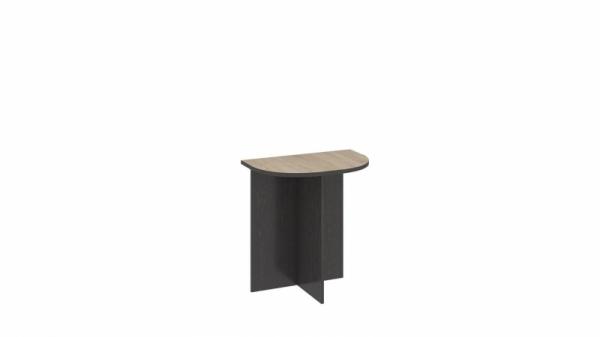 Стол приставной «Успех-2» (Венге Цаво, Дуб Сонома)