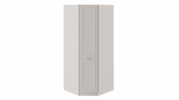 Шкаф угловой с 1 глухой дверью правый с опорой «Сабрина» (Кашемир)