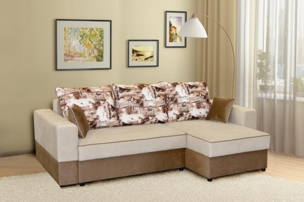 """Угловой диван """"Бостон"""" категория ткани 4"""
