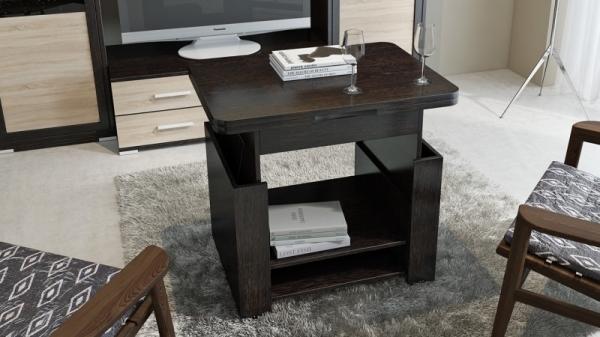 Журнальный столик тип 5 (трансформер) (Венге Цаво)