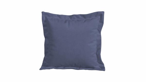 Подушка малая П2 (Maserati 21 (велюр), серо-синий)
