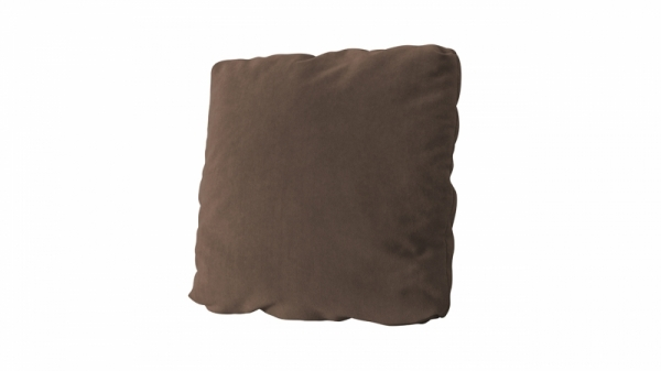 Подушка малая П1 (Galaxy 04 (велюр) темно-коричневый)