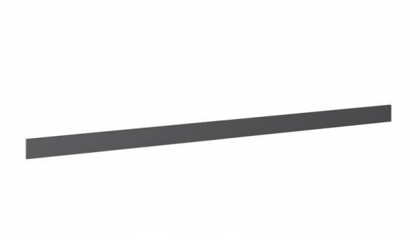 Одри ДО-045 Цоколь (L=2200) (ОДРИ (Серый шелк)) (ОДРИ (Серый шелк))