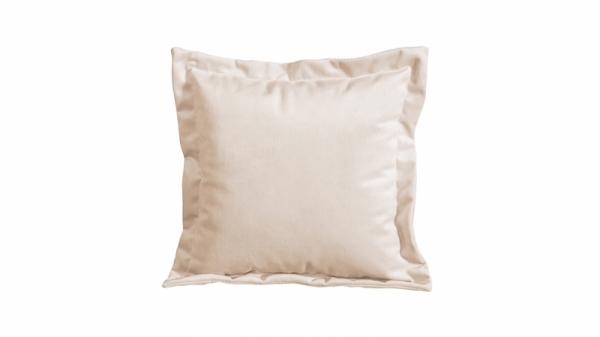 Подушка малая П2 (Beauty 02 (велюр) капучино)