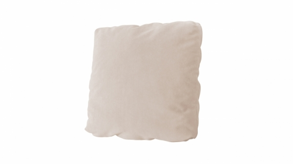 Подушка малая П1 (Beauty 02 (велюр) капучино)
