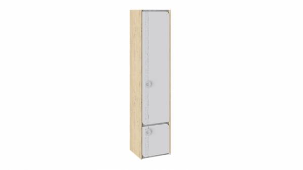 Шкаф для белья «Мегаполис» (Бунратти/Белый с рисунком)