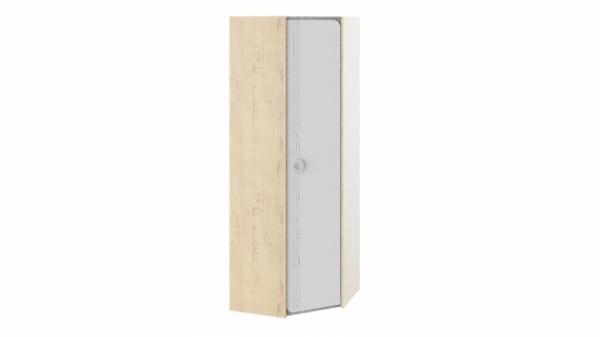 Шкаф угловой «Мегаполис» (Бунратти/Белый с рисунком)