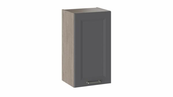 Шкаф навесной В_72-40_1ДР Серая 72 см