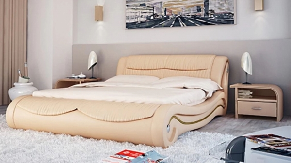 Кровать Тенли с подъемным механизмом 160x200 эко кожа