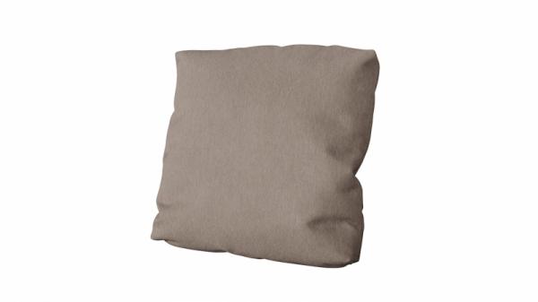 Подушка малая П1 (Miami 03 (рогожка) серо-коричневый)