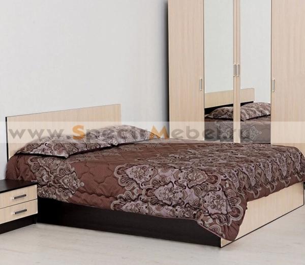 Кровать 180 с матрасом