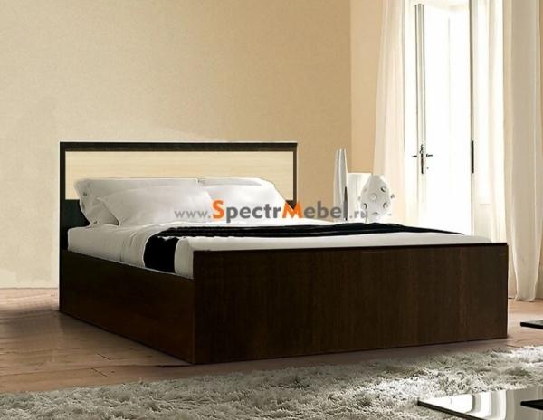 Кровать Фиеста с матрасом 1550х750х2032 с ортопедическим основанием