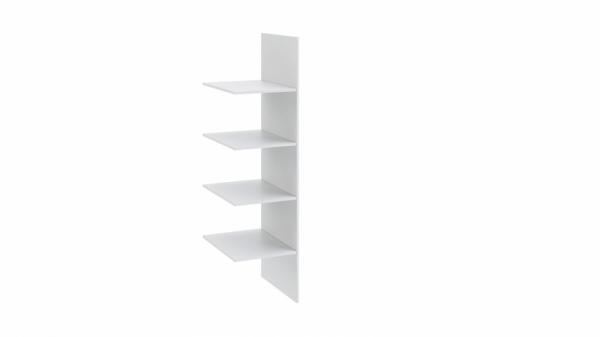 Комплект полок с перегородкой «Ривьера» (Белый)