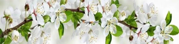Фартук Цветущая яблоня 2800х3х610 мм
