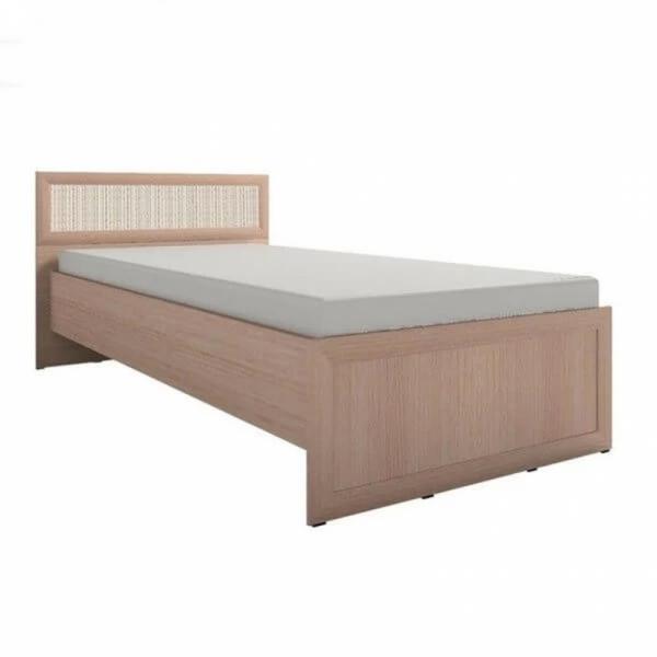 Кровать ортопедическая усиленная дуб