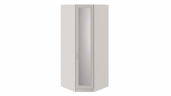 Шкаф угловой с 1 зеркальной дверью «Сабрина» (Кашемир)
