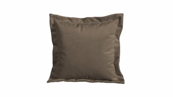 Подушка малая П2 (Beauty 04 (велюр) коричневый)