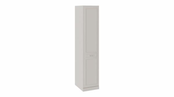 Шкаф для белья с 1 глухой дверью правый с опорой «Сабрина» (Кашемир)