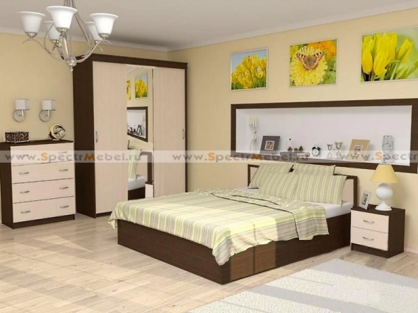 Спальный гарнитур Эфест