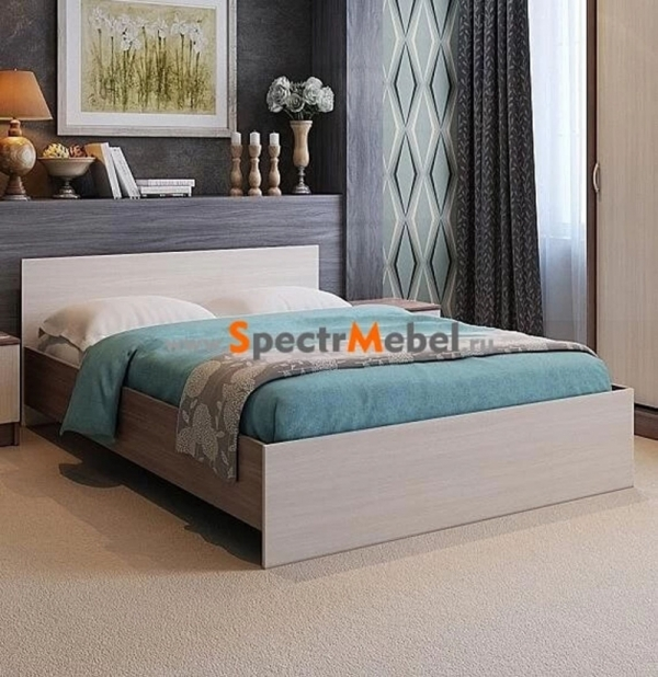 Кровать Бася 557 1400x2000 с матрасом